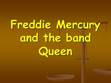 Freddie Mercury and the band Queen. Biography Freddie Mercury - without a doubt, the most outstanding figure in the Queen. His real name - Farrokh Bulsara,