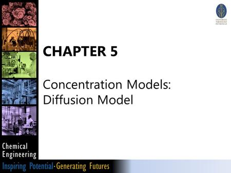 CHAPTER 5 Concentration Models: Diffusion Model.