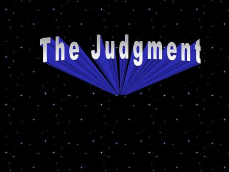 The Judgment.