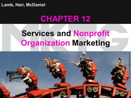 Services and Nonprofit Organization Marketing