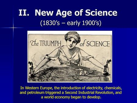 Science in the Age of Enlightenment