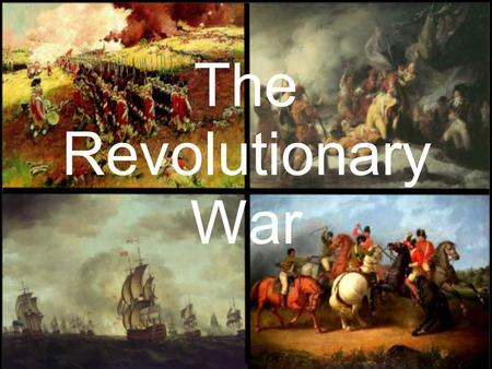 The Revolutionary War. Language of the Discipline retreat To retreat means to stop fighting and move away from the enemy.
