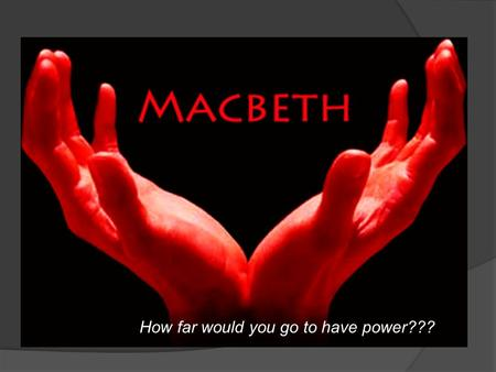 an analysis of the events that contributed to the tragedy in shakespeares macbeth In william shakespeares' macbeth, lady macbeth's manipulation is the catalyst that gets the story rolling  character analysis the tragedy of macbeth, by .