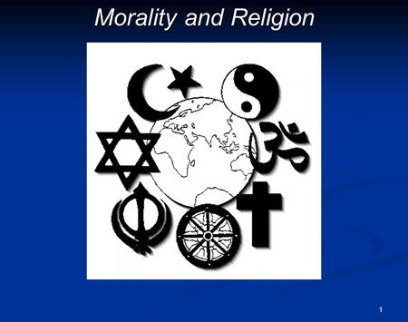 1 Morality and Religion. 2Outline Introduction: To what extent is religion a basis for morality? The Divine Command Theory The Natural Law Theory Conclusion: