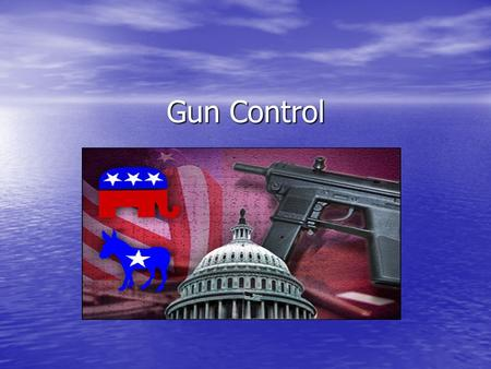 Gun Control. No free man shall ever be debarred the use of arms. The strongest reason for the people to retain the right to keep and bear arms is, as.