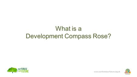 What is a Development Compass Rose? www.ourforestourfuture.org.uk.
