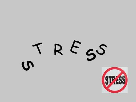 S T R E S S. What is Stress? Chronic stress: never ending Acute stress: short term Stressor: anything that requires you to cope with a situation Perception: