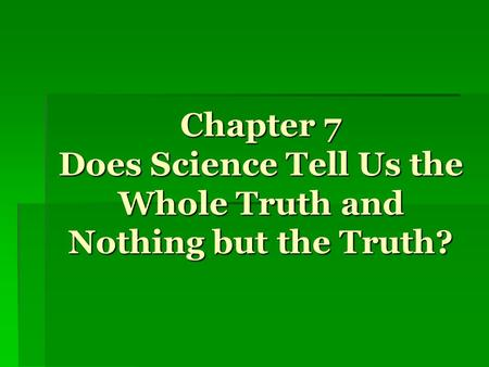 Introduction Philosophy of Science – critical analysis of various sciences and their methodology Scientism – blind faith in the power of science to determine.