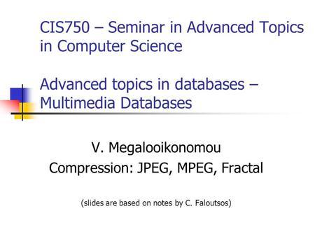 compression and decompression in multimedia
