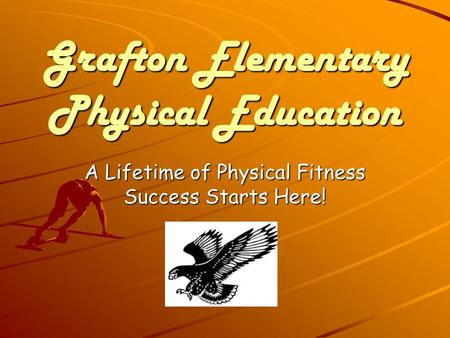 Grafton Elementary Physical Education
