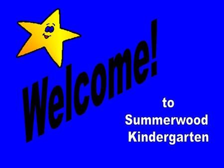 New to Summerwood Breakfast After delivering your students to their classes, please join all of our kindergarten parents and new parents to the school.