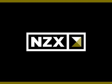 Slide 1. Slide 2 XBRL at NZX Slide 3 Presentation Overview 1.NZX overview –Team and Resources –Motivation 2.MAP (Market Announcement Platform) –Origin.