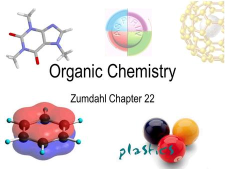 Organic Chemistry Zumdahl Chapter 22. Alkanes: Saturated Hydrocarbons Hydrocarbons are molecules composed of carbon & hydrogen –Each carbon atom forms.