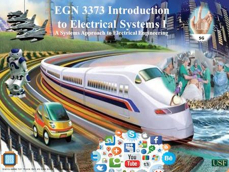 "EGN 3373 Introduction to Electrical Systems I A Systems Approach to Electrical Engineering Graphics Adapted from ""Physical, Earth, and Space Science"","