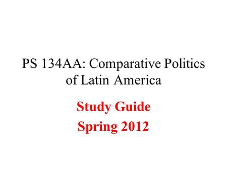 Essay, Research Paper: Democracy In Latin America