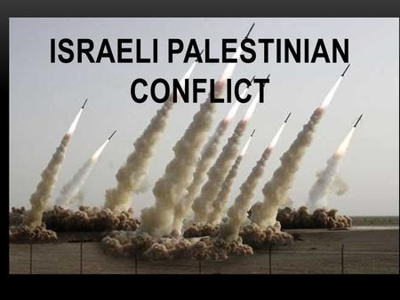 ISRAELI PALESTINIAN CONFLICT. FOCUS QUESTION Is it possible that the Palestinian Israeli Conflict can be resolved bringing peace to the region?