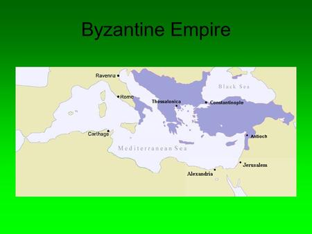 Byzantine Empire. Founding Established when Roman Emperor Constantine moved the capital of the Roman Empire from Rome to Byzantium in 300 AD - later to.