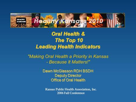 Kansas Public Health Association, Inc Fall Conference