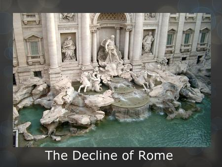 A study on the economic patterns of ancient rome