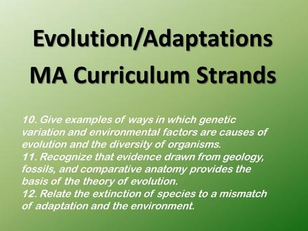 evolution and discussion forum