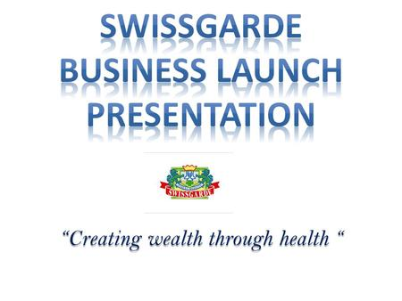 """Creating wealth through health "". Swissgarde is a South African Health & Beauty company, operational in several African Countries, including Nigeria."