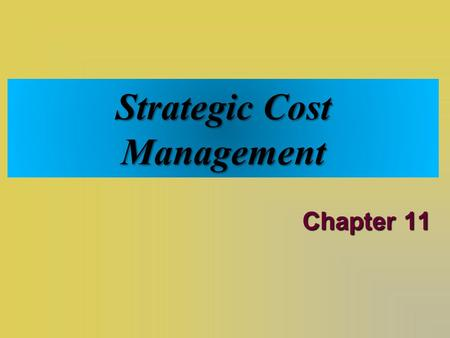 Solution manual on Cost Management A Strategic Emphasis, 5 Edition by Edward Blocher