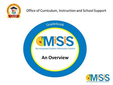 Office of Curriculum, Instruction and School Support An Overview 1.