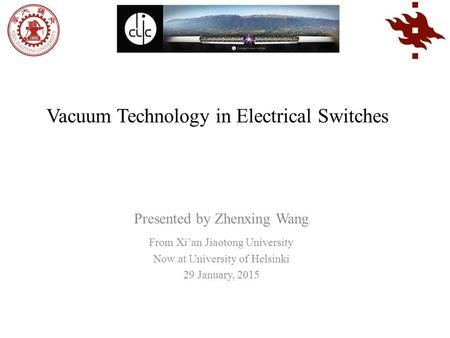 Vacuum Technology in Electrical Switches