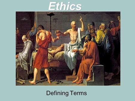 Ethics Defining Terms. Bell Ringer: Ethical Conundrum Test Case: Lying  Is it ever morally permissible?  Is it ever morally right?