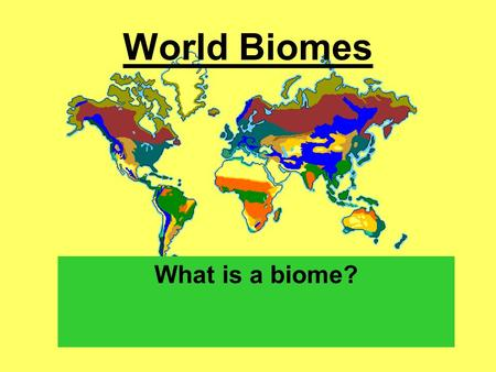 World Biomes What is a biome?.  Tropical Rainforest Location: Found near equator…little variation in.