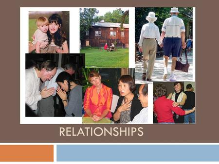 RELATIONSHIPS. What is important in a relationship?  Communication – the process of sharing information, thoughts, or feelings.  How do we communicate?