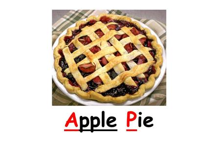 Apple Pie. Green Apple pie Red Apple Pie Different shape of Apple pie Circle.