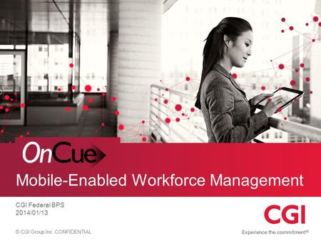 Mobile-Enabled Workforce Management