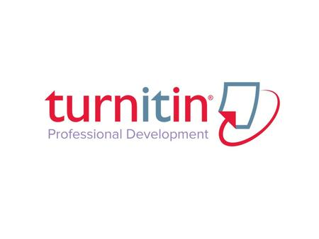 Table of Contents 1. What is Turnitin? 2. Guided Walkthrough 3. Supporting Academic Integrity 4. Strategies 5. Plagiarism Spectrum 6. Student Sources.