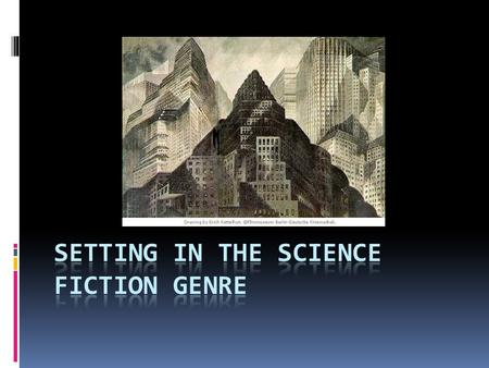 "What is Science Fiction? ""Individual science fiction stories may seem as trivial as ever to the blinder critics and philosophers of today -- but the core."