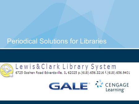 Periodical Solutions for Libraries. 2 More than 125,000,000 articles from the world's leading periodicals More than 2,600 of the world's leading reference.