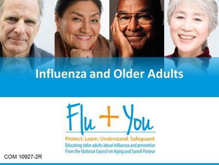 Title page Influenza and Older Adults COM 10927-2R.