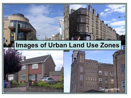 Images of Urban Land Use Zones