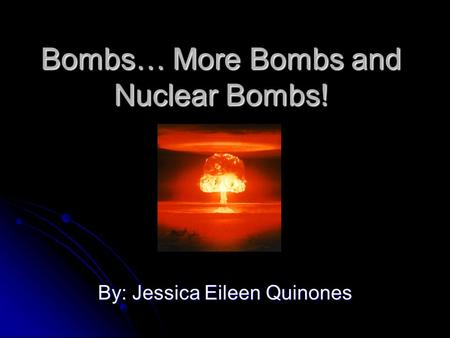 introduction to the physics of nuclear weapons effects pdf