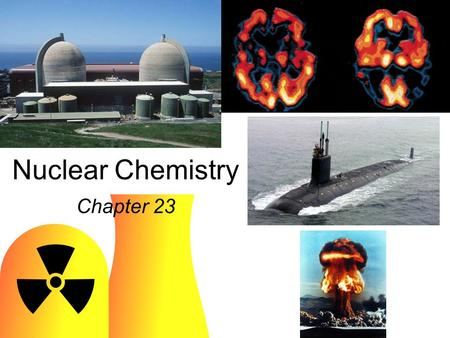 Nuclear Chemistry Chapter 23. n/p too large beta decay X n/p too small positron decay or electron capture Y.