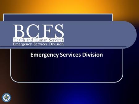 Emergency Services Division.  Founded in 1944, BCFS is a system of non-profit health and human service corporations  Programs and services are offered.