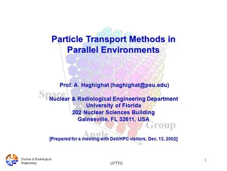 Particle Transport Methods in Parallel Environments