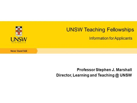 unsw strategic educational development grants  ppt download, Presentation