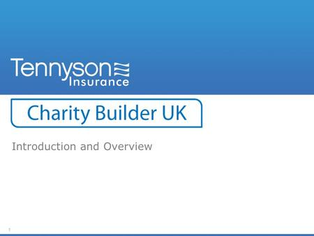 1 Introduction and Overview. 2 Objective: To introduce you to Charity Builder UK and explain what it can do for you and your colleagues.