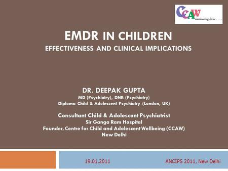 EMDR in children Effectiveness and Clinical Implications
