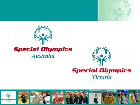 1. 2 Special Olympics is a sporting organisation that provides year-round sports training and competition for children and adults with an intellectual.