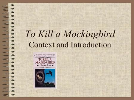 Essay Of To Kill A Mockingbird