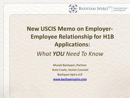 employer employee relationship h1b 2011