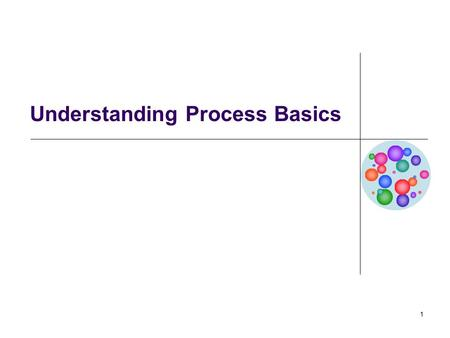 1 Understanding Process Basics. BA 553: Business Process Management2 What is Systems Thinking? Systems thinking is a holistic approach to analysis that.