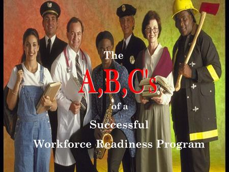 The of a Successful Workforce Readiness Program. Creating Communities that Work. Advancing the profession of Human Resource Management. Building a strategic.